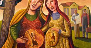 Appena Elisabetta ebbe udito il saluto di Maria, il bambino sussultò nel suo grembo (Lc 1,39)